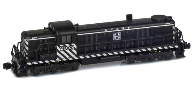 AZL 63305-2 ATSF RSD-4 #2104