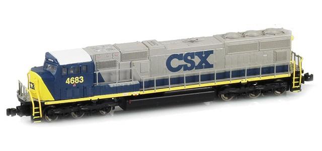 AZL 61010-1 SD70M CSX #4683