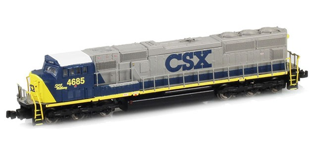 AZL 61010-2 SD70M CSX Spirit of Mulberry #4685