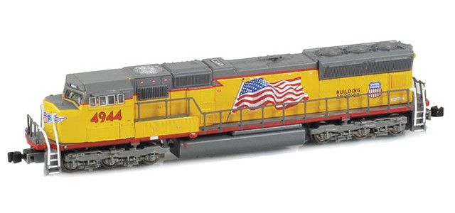 AZL 61004-5 SD70M UP Flared #4958