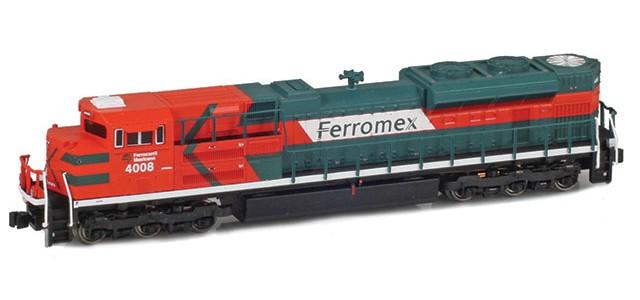 AZL 63108-1 SD70ACe Original Cab Ferromex #4008