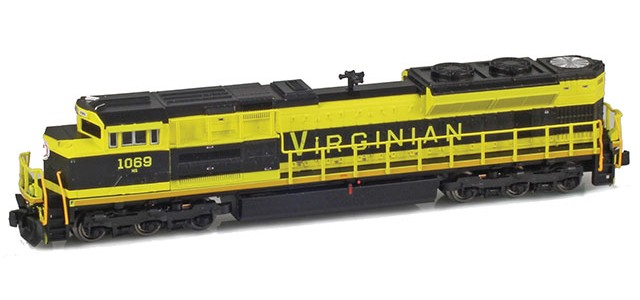 AZL 63110-8 SD70ACe NS Heritage | Virginian #1069