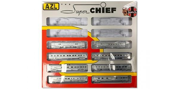 AZL 72201 ATSF Super Chief | Passenger 8-Car Set