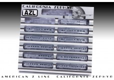 AZL Set 72100 | California Zephyr | 11 Car Boxed Set
