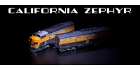 AZL 62916-1A WP  F3 A-B Set | California Zephyr Set | #801A, #801B