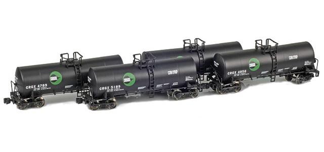 AZL 903804-1 Cargill CRGX 17,600 Gallon Tank Car Runner Pack
