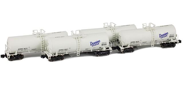 AZL 903816-1 ASRX | Domino Sugar 17,600 Gallon Tank Car Runner Pack