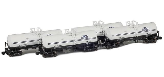 AZL 903821-1 UTLX | OMYA 17,600 Gallon Tank Car Runner Pack