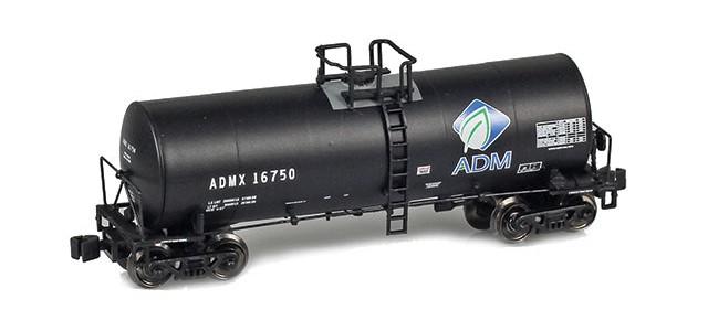 AZL 913800-1 ADMX, ADM (w/ Leaf Logo) 17,600 Gallon Tank Car #16750