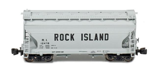 AZL 903910-1 ACF 2-Bay Hopper Rock Island #12478