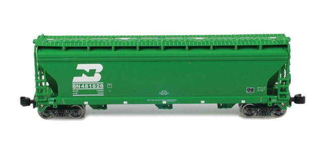 AZL 91302-1 ACF 3-Bay Hopper BN #481688