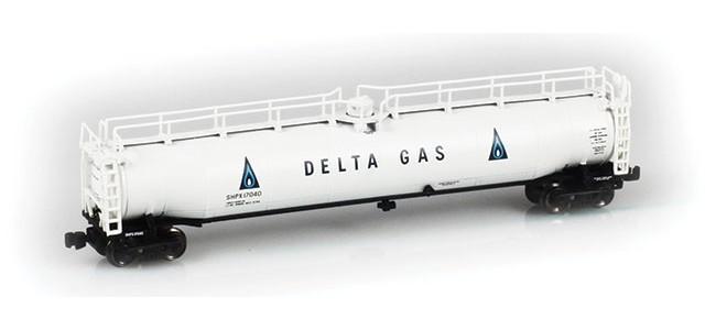 AZL 91337-1 Delta Gas SHPX LPG Tank Car Single #17040