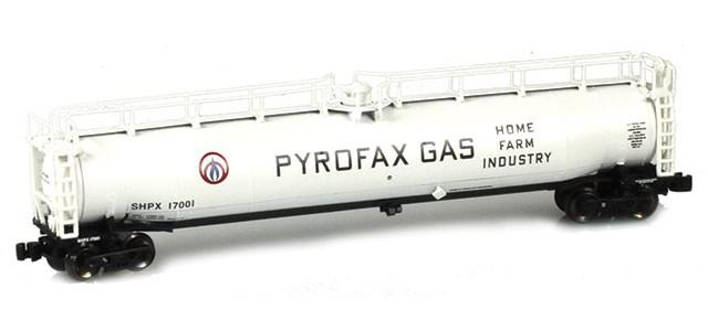 AZL 91340-1 Pyrofax Gas SHPX LPG Tank Car Single #17001