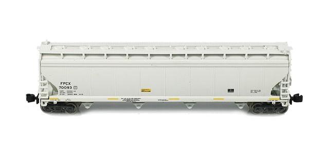 AZL 90701-1 ACF 4-Bay Hoppers | FPCX 4-Car Set