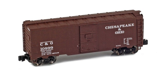 AZL 904302-1 C&O 40' AAR Boxcar #10999