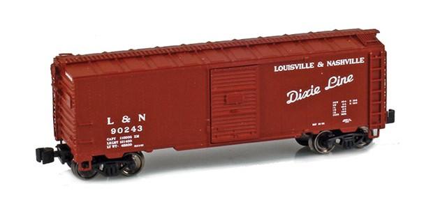 AZL 904307-1 L&N 40' AAR Boxcar #90243