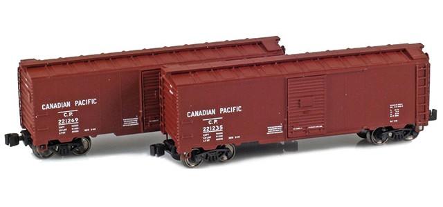 AZL 904374-1 CP 40' AAR Boxcar | 2-Car Set