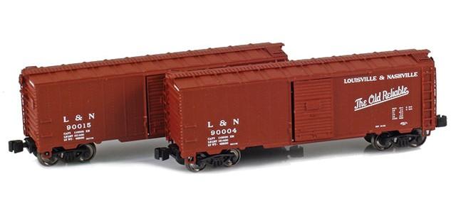 AZL 904377-1 L&N 40' AAR Boxcar | 2-Car Set