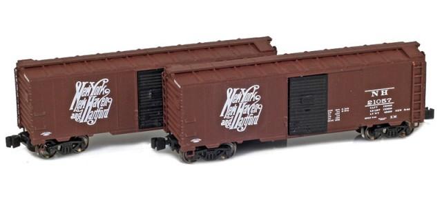 AZL 904378-1 New Haven 1937 40' AAR Boxcar | 2-Car Set