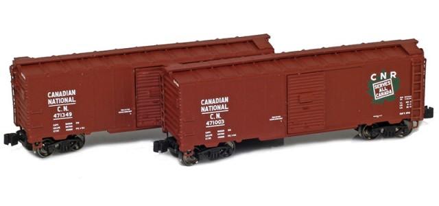 AZL 904373-1 Canadian National 40' AAR Boxcar | 2-Car Set