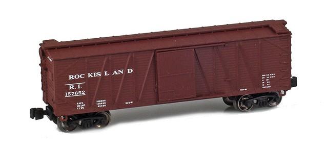 AZL 903109-1 40' Rock Island Outside Braced Boxcar #157652