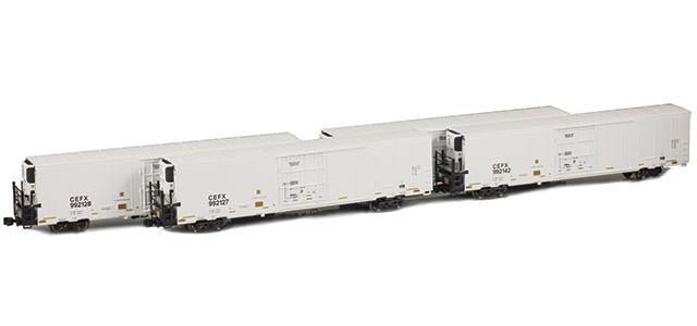 AZL 904007-1 Trinity 64' Reefer CEFX 4-Pack | Set 1