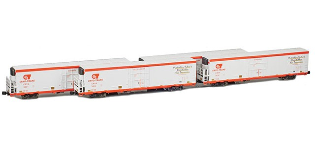 AZL 904008-1 Trinity 64' Reefer CRYX 4-Pack | Set 1