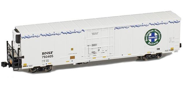 AZL 904006-1 Trinity 64' Reefer BNSF 12-Pack