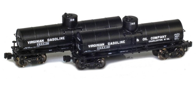 AZL 915031-1 Virginian 8,000 Gallon Tank Car 2-Pack