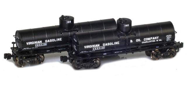 AZL 915031-1 Virginian 8,000 Gallon Tank Car 2-Pack