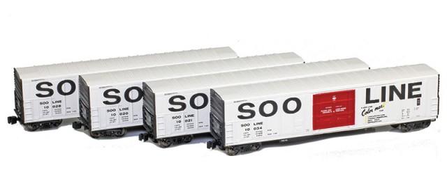 AZL 904808-1 R-70-20 SOO Line Reefer 4-Pack