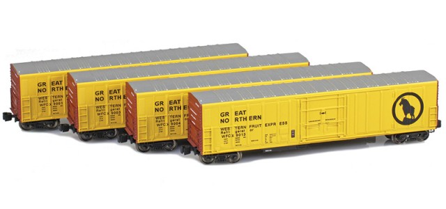 AZL 904805-1 Great Northern R-70-20 Reefers 4-Pack