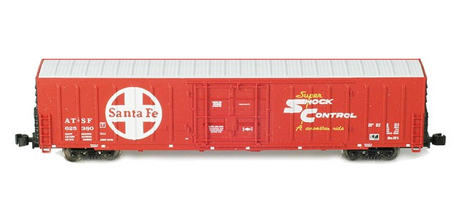 AZL 90261-1 ATSF PC&F Beer Reefer | 4-Car Set