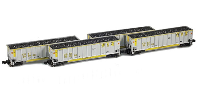 AZL 90113-1 BethGon Coal Porter CSX | Set 1