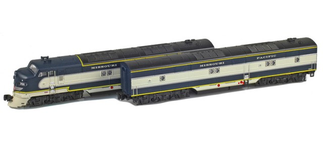 AZL 64615-2 Missouri Pacific EMD E7A-B Set  | #7014, #7014B