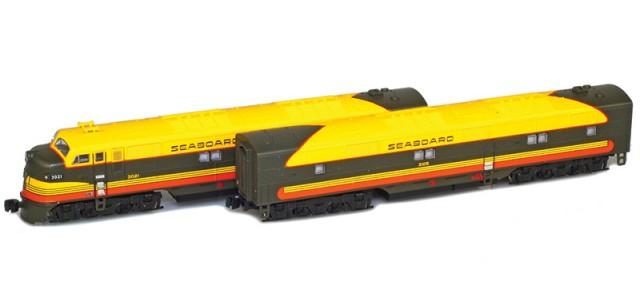 AZL 64611-1 Seaboard Air Line EMD E7 A-B Set | #3021, #3105