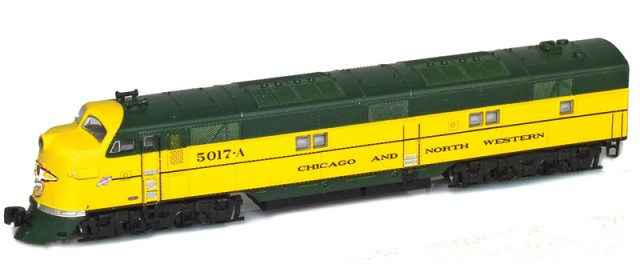 AZL 64613-2 Chicago & North Western EMD E7A #5018
