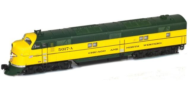 AZL 64613-1 Chicago & North Western EMD E7A #5017