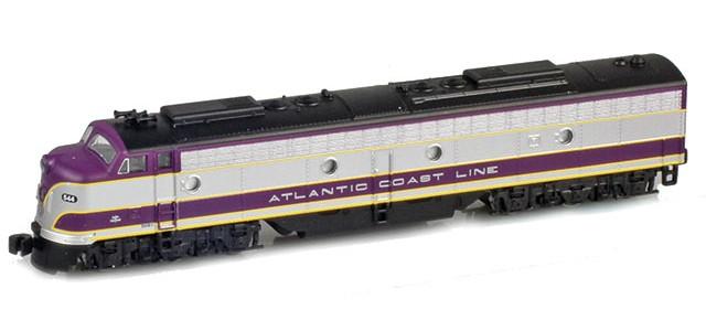 AZL 62611-1 Atlantic Coast Line (ACL) E8 A #544