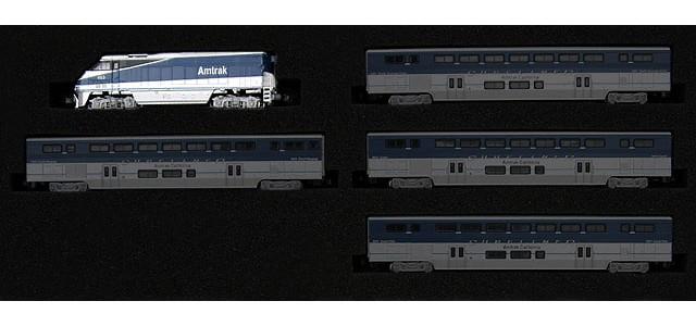 AZL 6002-1 Amtrak West F59PHI #452   Locomotive Only