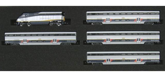 AZL 7001-1 F59PHI Amtrak California Full Set | California Cars #2011