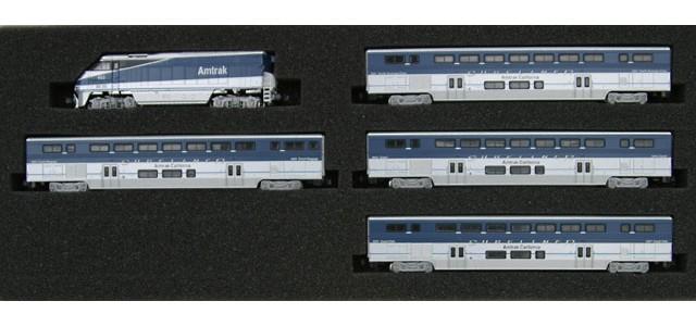 AZL 7002-1 F59PHI Amtrak West Full Set | Surfliner Cars #452