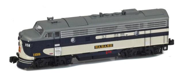 AZL 63009-2 Wabash EMD F7A #1158