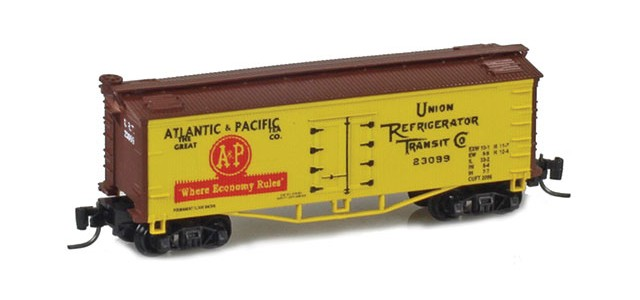 Father Nature FN-5015 A&P 33' Wood Side Reefer URT #23099