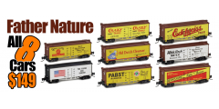 Father Nature FN-8-Pack | Get All 8 Cars Just $149.00
