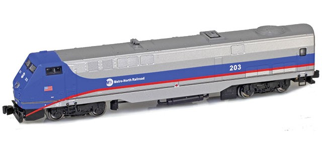 AZL 63506-1 GE P42 Commuter Railroad #203