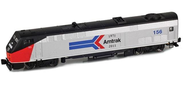 AZL 63507-1 GE P42 Genesis Amtrak Phase I Heritage #156