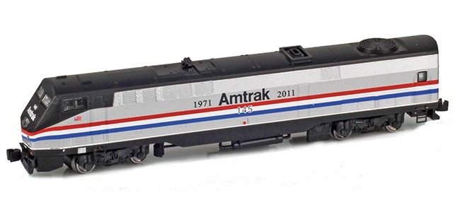 AZL 63509-1 GE P42 Genesis Amtrak Phase III Heritage #145