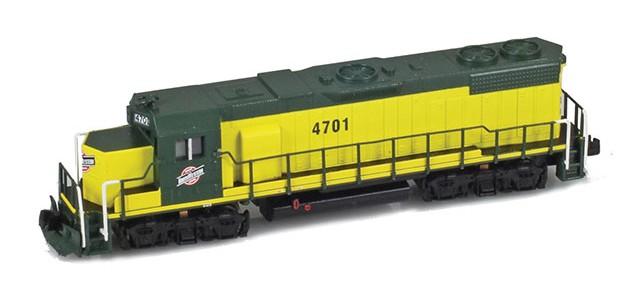 AZL 62519-1 GP38-2 Chicago & North Western #4701