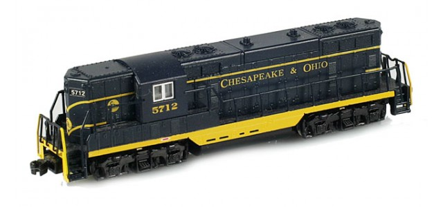 AZL 6202-1 GP7 Chesapeake & Ohio (C&O) #5712